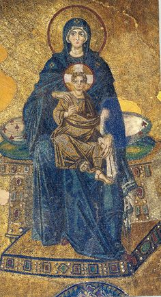 https://flic.kr/p/biWLmx | Christ and Panagia in Aghia Sofia