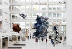Esculturas de papel de Peter Gentenaar
