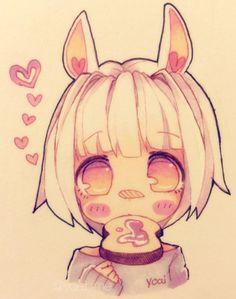 i will check an art store first tmr just in case ; Anime Chibi, Kawaii Anime, Kawaii Chibi, Cute Chibi, Kawaii Art, Anime Drawings Sketches, Kawaii Drawings, Anime Sketch, Manga Drawing