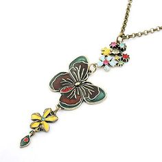 Classic butterfly love sweater chain 177610