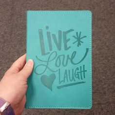 Love this #journal but I wish it said pretty much anything other than live laugh love. . I didn't buy it.