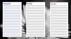 106/365 Create your own organizer pages