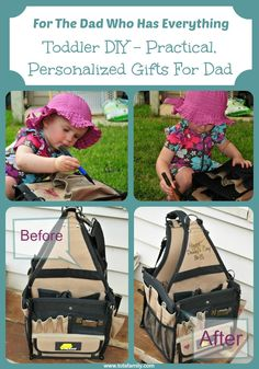 Toddler DIY - Practical, Personalized Gift For Dad