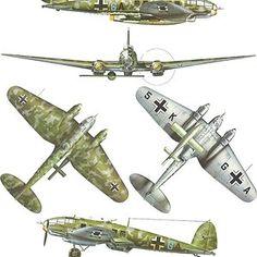 Heinkel Luftwaffe, y V 1 Ww2 Aircraft, Fighter Aircraft, Military Aircraft, Fighter Jets, Luftwaffe, Me262, Aircraft Painting, Ww2 Planes, Aircraft Design