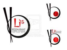 Li's Restaurant - Logo Samples by KYJellyBean on DeviantArt Chinese Restaurant Names, Chinese Noodle Restaurant, Thai Food Restaurant, Asia Restaurant, Resturant Logo, Restaurant Logo Design, Food Logo Design, Logo Food, Logo Design Samples