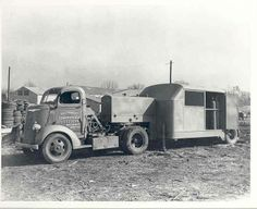 1940 Chevrolet C.O.E. Tractor Trailer Truck Factory 127591-GE87CC