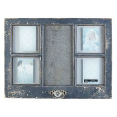 Studio Décor® Viewpoint Notting Hill Window Collage Frame, 4 Openings