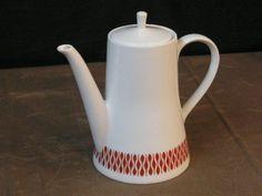 Melitta-Zuerich-5-100-rotbraune-Tropfen-Kaffeekanne-60er-70er-Jahre