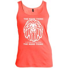 Just added this new The Mane Thing Wo... for you.  Woo Hoo! What do you think? http://catrescue.myshopify.com/products/the-mane-thing-womens-scoop-neck-tank-top?utm_campaign=social_autopilot&utm_source=pin&utm_medium=pin