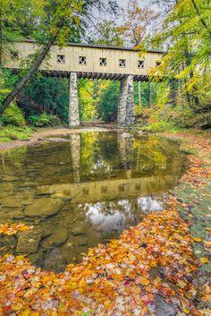 Windsor Mills Covered Bridge - The historic Windsor Mills Covered Bridge…