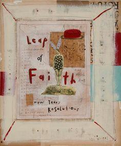 Ahhh+Yes+A+Leap+of+Faith+by+LynnWhipple+on+Etsy,+$55.00