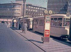 Kröpcke vor Cafe Kröpcke Ri. Aegi ca. 1964 |  ⍇ DDR in color 250