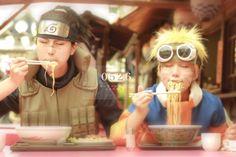 Iruka and Naruto ( Naruto )