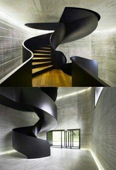 futuristische treppen gestaltungsideen