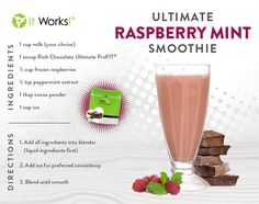 It Works Recipes - It Works Independent Distributor -http://www.hackettwrapstars.com/shop/product/316/