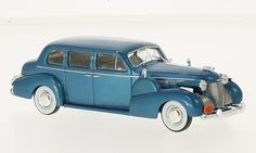 Cadillac Series 75 Fleetwood V8 Sedan 1939 met.-dunkeltürkis 1:43 Whitebox
