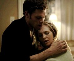 Even though i'm supposed to hate Klaus, I actually love him and Caroline together.