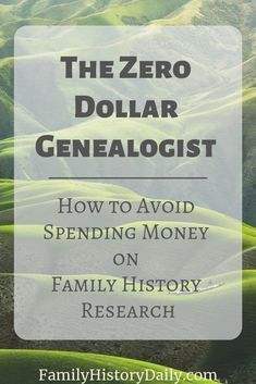 If you've been reading Family History Daily for some time you know we love free genealogy records and programs so, to help you save costs, we're looking at the top four costs for family historians and their free alternatives. Read on for tips. Free Genealogy Records, Free Genealogy Sites, Genealogy Forms, Family Genealogy, Genealogy Search, Genealogy Chart, Genealogy Humor, Family Tree Research, Genealogy Organization