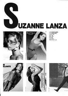 SUZANNE LANZA 1985