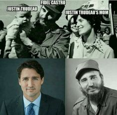Most Viral Photos Stolen Straight from Justin Trudeau Fidel Castro, Margaret Trudeau, Canadian Things, Political Opinion, Let That Sink In, Thing 1, Conservative Politics, Critical Thinking, Best Funny Pictures