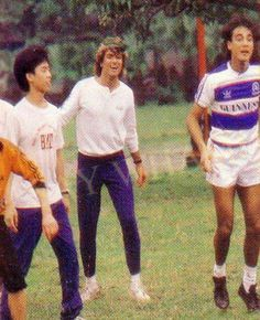 George Michael playing sports