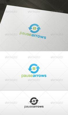 Pause Arrows Logo ~ 29$