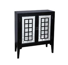 Madison Black Hall chest RH-641172