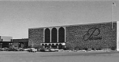 "Von Maur in 1974... when it was known as ""Petersen's"" (Petersen Harned Von Maur)"