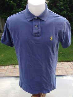 Vintage Light Blue Short Sleeve Polo by Ralph Lauren w/ Yellow Horse by MajorDivision on Etsy https://www.etsy.com/listing/237291990/vintage-light-blue-short-sleeve-polo-by