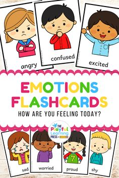 Help your learners identify different emotions, recognise feelings in others and talk about how they are feeling with these clear and colourful flashcards.