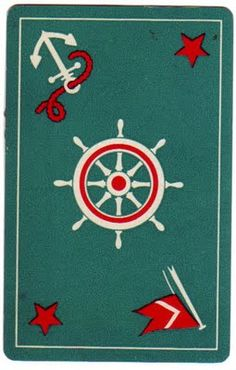 nautical - would make a great floorcloth