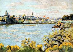 Le Pornic by @art_guillaumin #impressionism