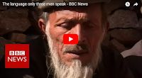 SCG VIRALS: The language only three men speak - BBC News