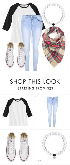 """BTS outfit"" by all-about-fashion-13 on Polyvore featuring Glamorous and Converse"