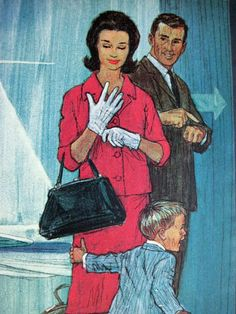 Great illustration for Boeing Jetliners circa 1963