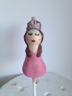 Princess cake pop