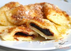 42 z Czech Recipes, Pasta Dishes, Bon Appetit, Sweet Recipes, Cooking Tips, Nom Nom, French Toast, Food And Drink, Treats