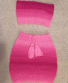 Crochet Summer Tops, Crochet Crop Top, Crochet Bikini, Crochet Hooded Scarf, Knit Crochet, Crochet Clothes, Diy Clothes, Bralette Pattern, Crochet Woman