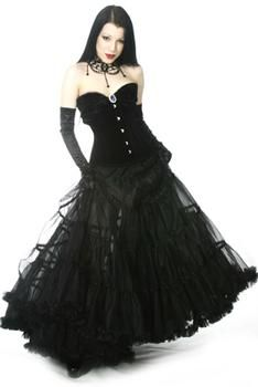 Gothic dresses for prom