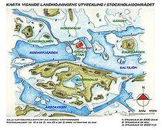 Stockholmsområdet cirka i mitten av 900-talet f.Kr.  The Stockholm area at around 900 B.C.