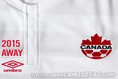 Canada Umbro 15/16 Away Kit | Todo Sobre Camisetas