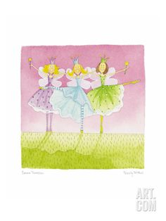 Felicity Wishes XVI Giclee Print by Emma Thomson at Art.com