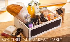 Breakfast Basket, Breakfast Ideas, Guest Basket, Continental Breakfast, Meals, Meal Ideas, Business Ideas, Guest Room, Holland