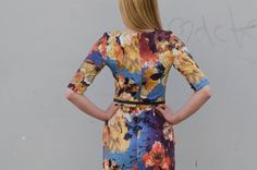 Be Chic Fashion dress spring - summer season 2016, beautiful mixing colors and flower prints picture #6