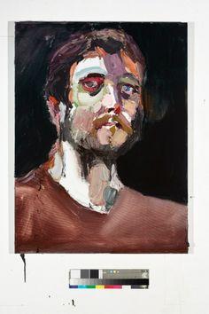 Ben Quilty - Self portrait after Afghanistan