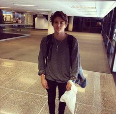 I just wanna hug him in his big jumper coz he's so cute aaagghhh