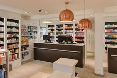 www.artipharma.be -apotheekinrichting - aménagement de pharmacie Pharmacy Design, Liquor Cabinet, Storage, Table, Furniture, Aries, Pitch, Counter, Home Decor