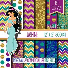 Hey, I found this really awesome Etsy listing at https://www.etsy.com/listing/224356105/jasmine-digital-papers-paper-scrapbook