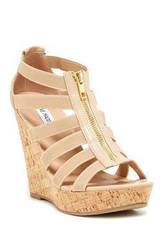 Steve Madden Eddyy Wedge Sandal by Steve Madden on @HauteLook
