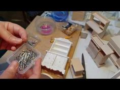 Using Push Pins and Stick Pins when making miniatures. YouTube (V)